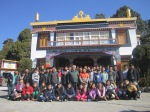 13th Jan 2015   The very first monastery after exile was build in Mussoorie.