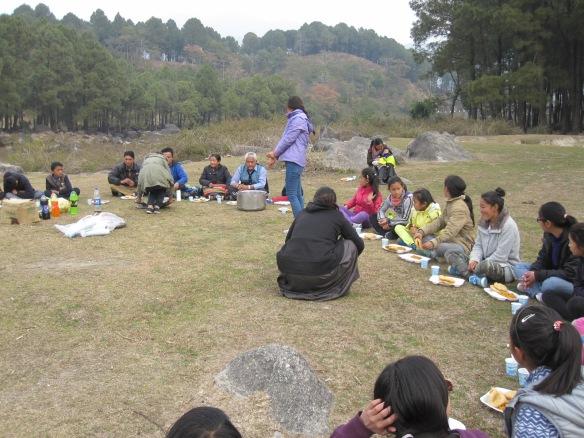lunch at Manchaa